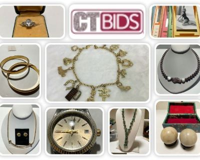 CTBIDS SENSATIONAL JEWELRY TO WEAR AND SHARE WAREHOUSE AUCTION / 44TH & PALO VERDE / ENDS 08/8/21