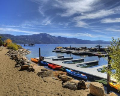 CALL/TEXT ME BEFORE inquiring!- Lake & Beach Front Townhome on Lakeshore-4 MAX! - Incline Village