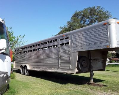 Stock trailer and hay bailor  for sale