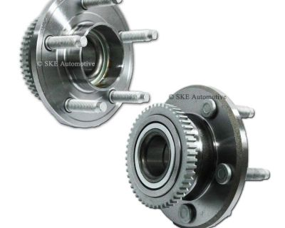 [whb Fd513221] 2pc Front Wheel Hub Bearing Assembly For 02 03 04 05 Ford Mustang