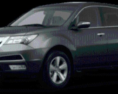 2013 Acura MDX Technology with Entertainment Package