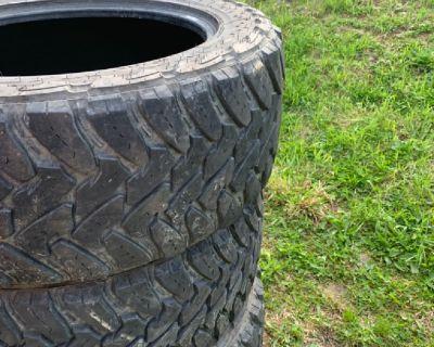 285/60/20 mud tires
