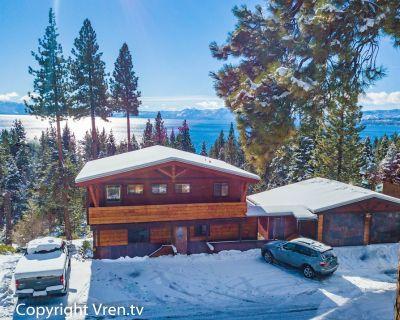 Panoramic Lake Views, Hot tub - recently remodeled. - Tahoe Vista