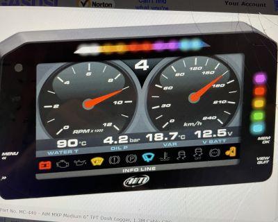 "AiM MXP Compact Dash 6"" TFT Display"