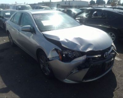 Salvage Silver 2017 Toyota Camry