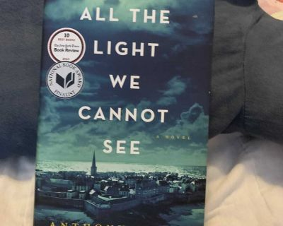 All the Light We Cannot See hardcover book by Anthony Doerr