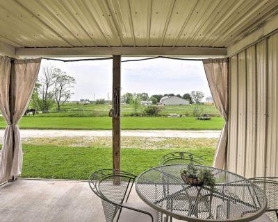NEW! Peaceful Shiloh Retreat w/ Yard & Fireplace! - Richland County
