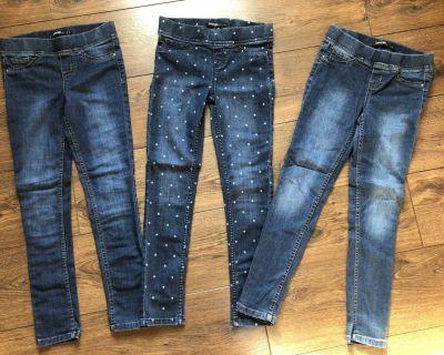 Girls Pants Lot - Size S/M (7/