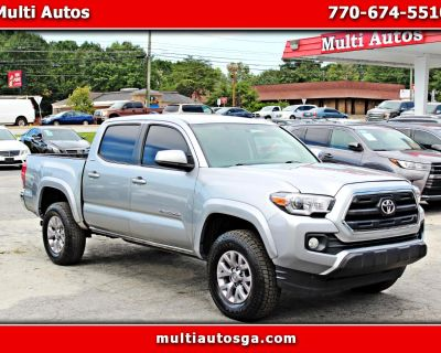 Used 2017 Toyota Tacoma SR5 Double Cab Long Bed V6 6AT 2WD