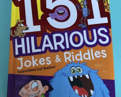 151 jokes and riddles book for kids