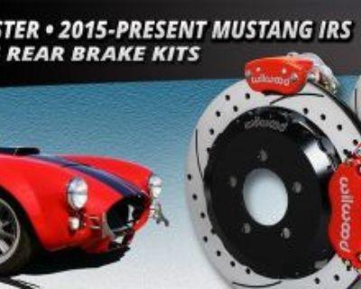 "Wilwood Dynapro Radial Mc4 Rear Parking Brake Kit Fits 2015 Mustang,13""drilled"