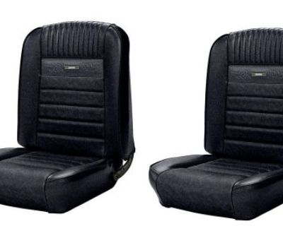 Full Set Deluxe Pony Seat Upholstery 1964 - 1966 Ford Mustang F/r - Any Color