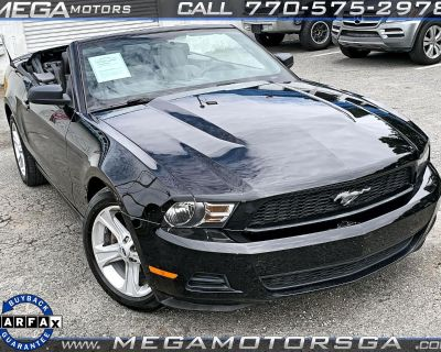 Used 2010 Ford Mustang V6 Premium Convertible