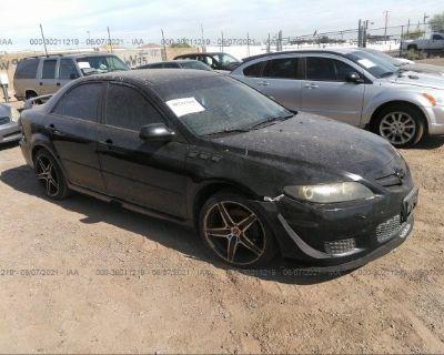Salvage Black 2007 Mazda Mazda6