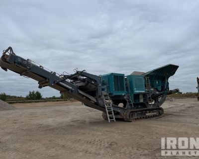 2014 Powerscreen Premiertrak R400 Tracked Mobile Jaw Crusher Plant
