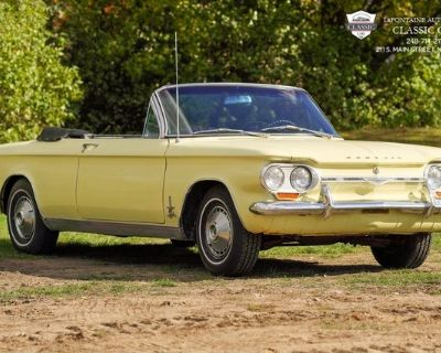 Pre-Owned 1964 Chevrolet Monza Spider 2D Convertible