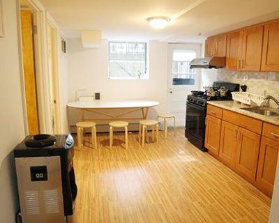 26B> Fully Furnished Room in Half Basement Apt
