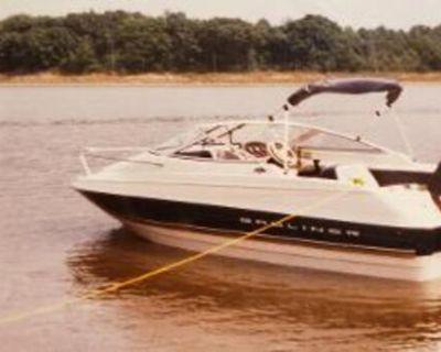 1996 Bayliner Cuddy 1702 series with trailer