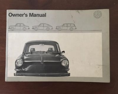 1971 Type 3 Owner s Manual