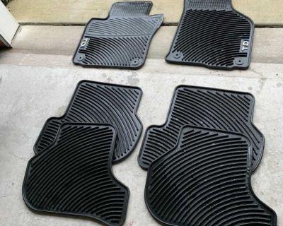 VW TDI Golf Rubber Floor Mats