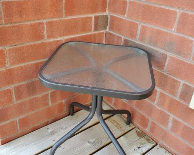 """Patio side table 16x16x17.5"""""""