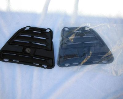2013-2014 Mustang Bumper Left & Rigth Fog Ligth Covers Black