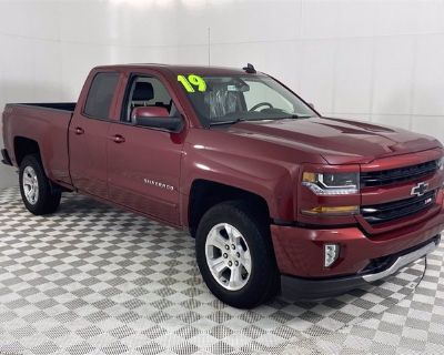 Certified Pre-Owned 2019 Chevrolet Silverado LD LT Z71 Four Wheel Drive Double Cab