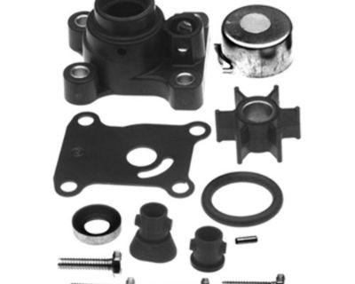 Nib Johnson Evinrude 9.9 To 15 Hp Water Pump Kit W/ Housing 2 & 4 Stroke 394711