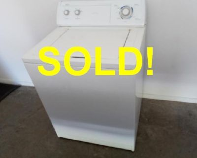 SOLD! WORKING WHIRLPOOL WASHER - Super Capacity Commercial Quality Washer!