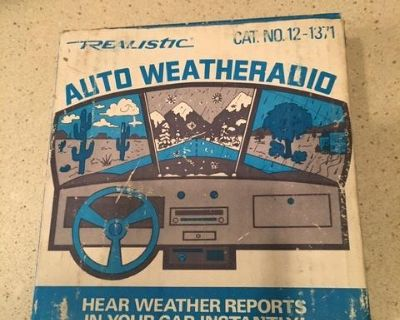 NOS weather radio adaptor