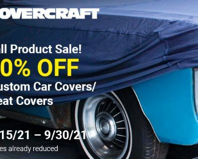 Extend the life of your Chevelle with Covercraft Car Cover + Season Sale