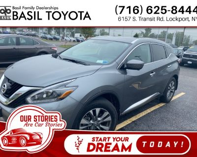 Pre-Owned 2018 Nissan Murano SL With Navigation & AWD