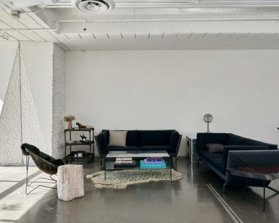 The American Cement Building Daylight Studio with Outdoor Space, Los Angeles, CA