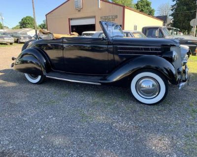 1936 Ford Cabriolet 2-door All-Steel Barn Find Convertible Deluxe Phaeton Restored Stock