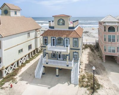 Beautiful Beach Front House with an Amazing Rooftop Deck and elevator! - Fort Morgan