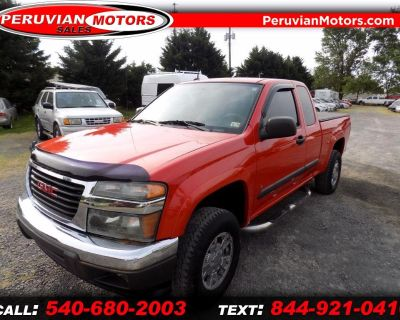 2008 GMC Canyon Work Truck Ext. Cab 4WD