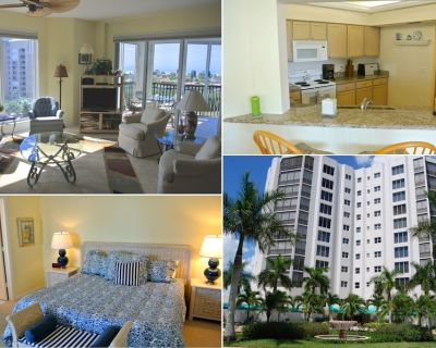 Waterside 283 - Bay Views - Gym - Elevator - Bay Views - Tennis Courts - Gated - Fort Myers Beach