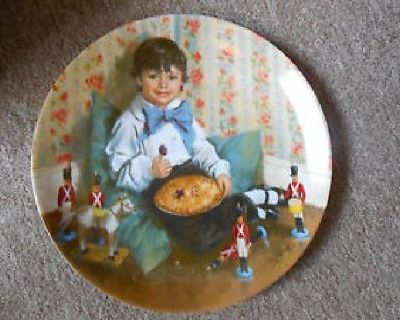 $50 OBO Decorative Plates - Nursery Rhymes