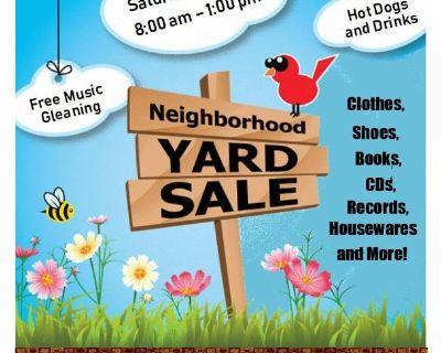 Community Yard Sale and Free Music Gleaning - Oregon Hill