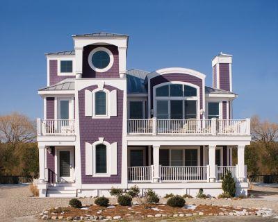 Purple House 30 Yds To Beach Sleeps 16, Bethany s Premier Rental, 7 BRs, 7 Bths - Bethany Beach