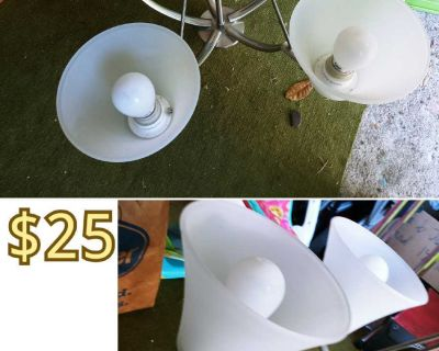 5 lights fixture GREAT CONDITION!