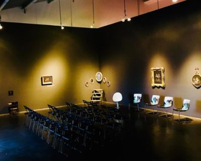 Industrial Loft Gallery with our own ongoing art exhibits and great lighting, enjoy an interesting cultural experience, Santa Monica, CA