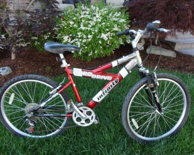 "Teen Adult Infinity Hard Drive 26"" Tire/18"" Frame Mountain Bike"