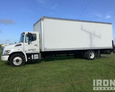 2016 Hino 268 4x2 Cargo Truck