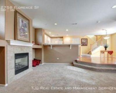 2758 Florence St, Denver, CO 80238 3 Bedroom House