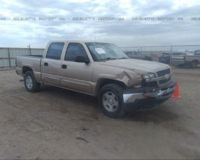 Salvage Gold 2005 Chevrolet Silverado 1500