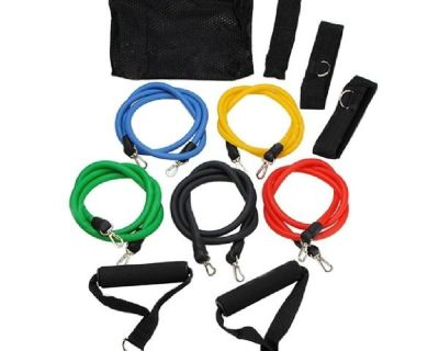 Top Quality 11pcs/set Pull Rope Fitness Exercises Resistance Bands for sale