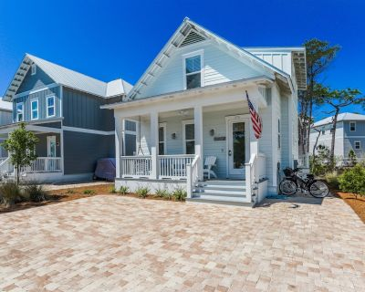Family Tides on 30A! Bikes, Pool, Hot Tub, Fire Pit - Blue Mountain Beach