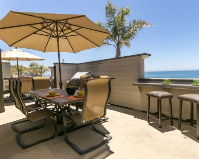 Avila Beach Ocean Front Condo - Avila Beach