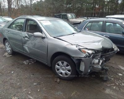 Salvage Gray 2005 Toyota Camry